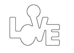 PANCAKE DIE LET3 LOVE CIRCLE