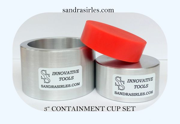 "3"" CONTAINMENT CUP SET"