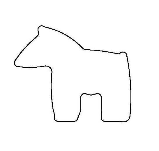 PANCAKE DIE SW3 FETISH HORSE