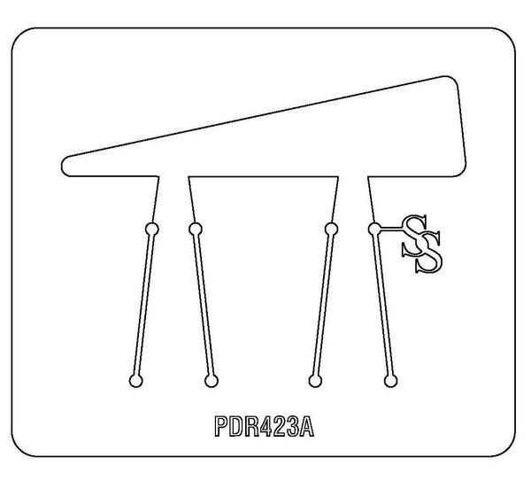 PANCAKE DIE PDR423 RING SHANK WRAP-A-ROUND