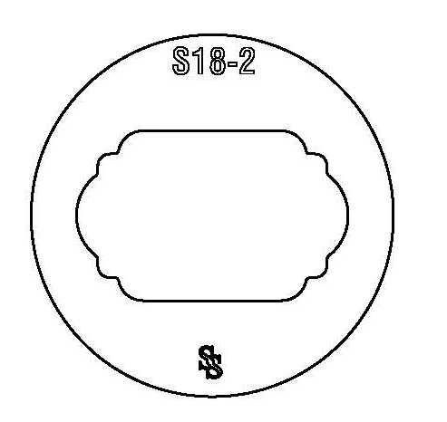 SILHOUETTE DIE S18 DESIGN 1