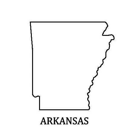 PANCAKE DIE ST025 STATE ARKANSAS