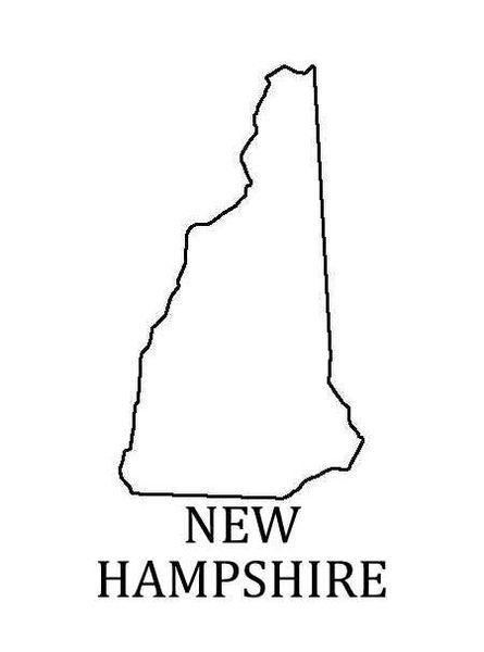 PANCAKE DIE ST009 STATE NEW HAMPSHIRE