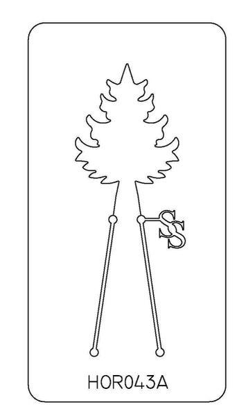 PANCAKE DIE HOR043 TREE 1