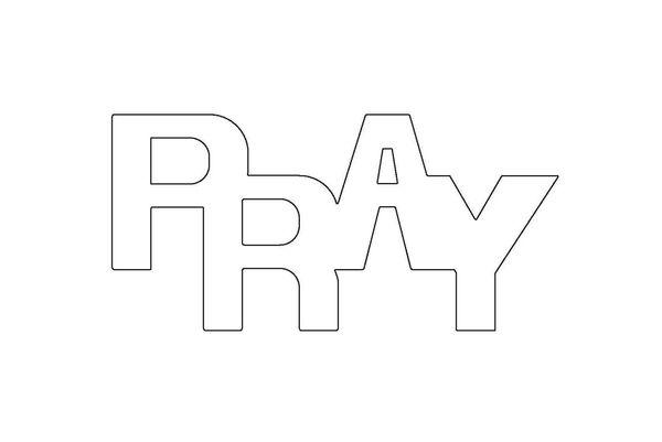 PANCAKE DIE LET34 PRAY 1