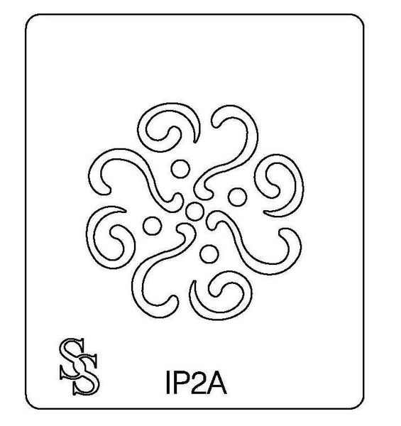 IMPRESSION PLATE IP2 DESIGN