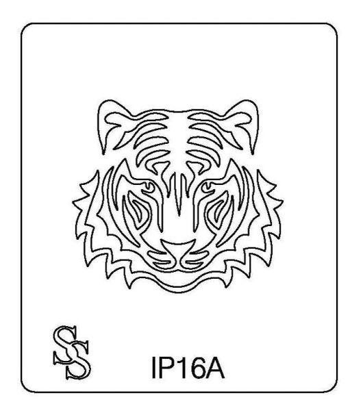 IMPRESSION PLATE IP16 TIGER FACE