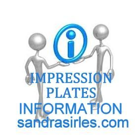 _IMPRESSION PLATE INFORMATION