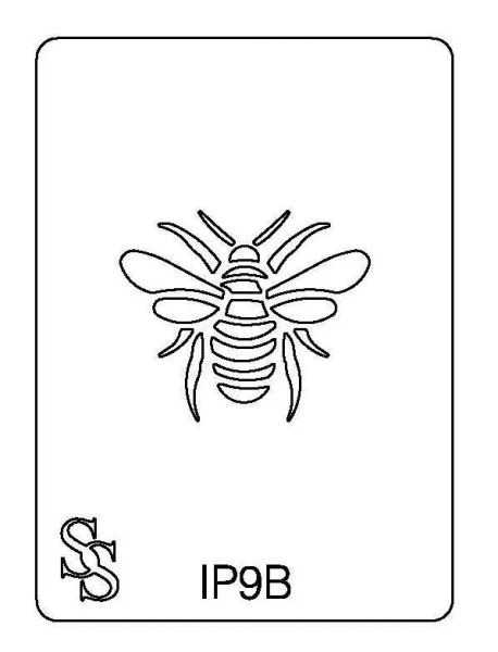 IMPRESSION PLATE IP9B BEE