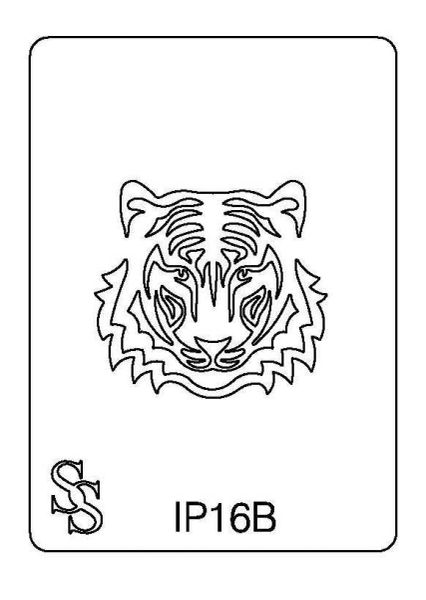 IMPRESSION PLATE IP16B TIGER FACE