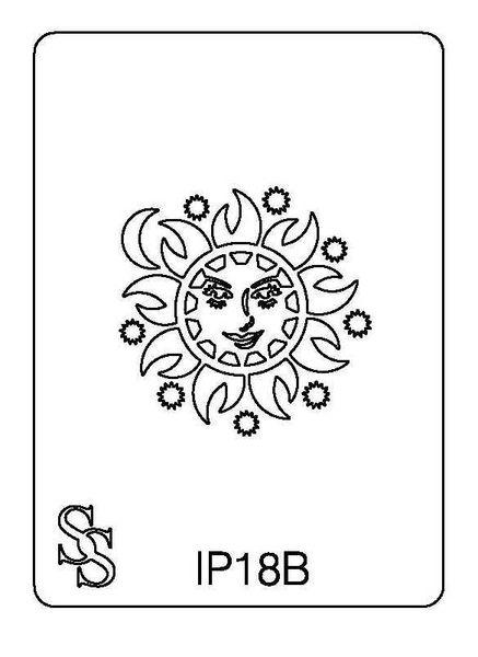 IMPRESSION PLATE IP18B SUN FACE