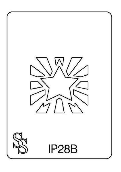 IMPRESSION PLATE IP28B DESIGN 2