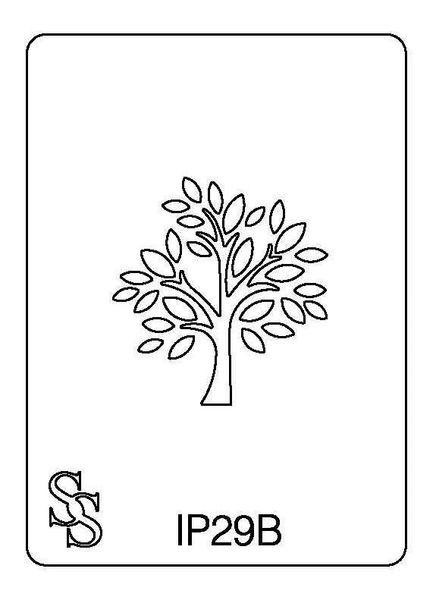 IMPRESSION PLATE IP29B TREE