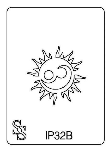 IMPRESSION PLATE IP32B SUN FACE 1