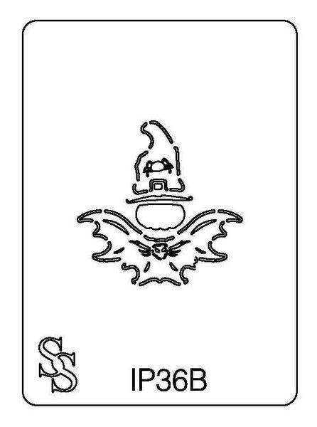 IMPRESSION PLATE IP36B PUMPKIN/BAT