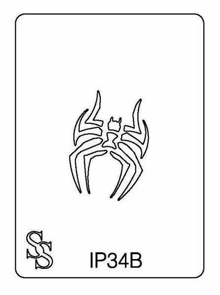 IMPRESSION PLATE IP34B SPIDER