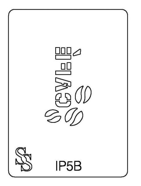 IMPRESSION PLATE IP5B CAFE
