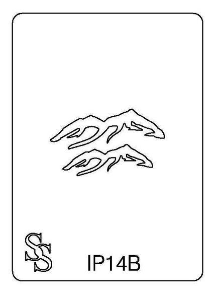 IMPRESSION PLATE IP14B MOUNTAINS SALE