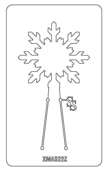PANCAKE DIE XMAS22 SNOWFLAKE 1