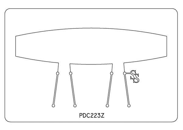 PANCAKE DIE PDC223 CUFF SQUARE TAPER