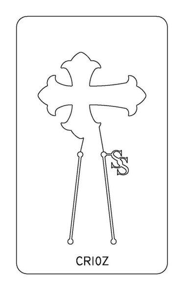 PANCAKE DIE CR10 CROSS 10