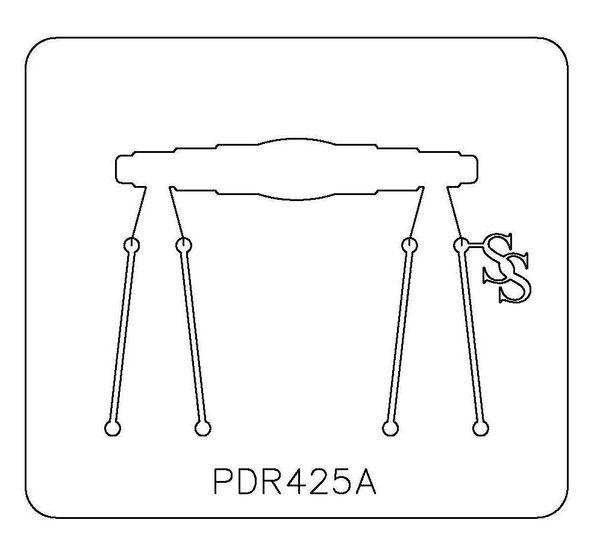 PANCAKE DIE PDR425 RING SHANK 15