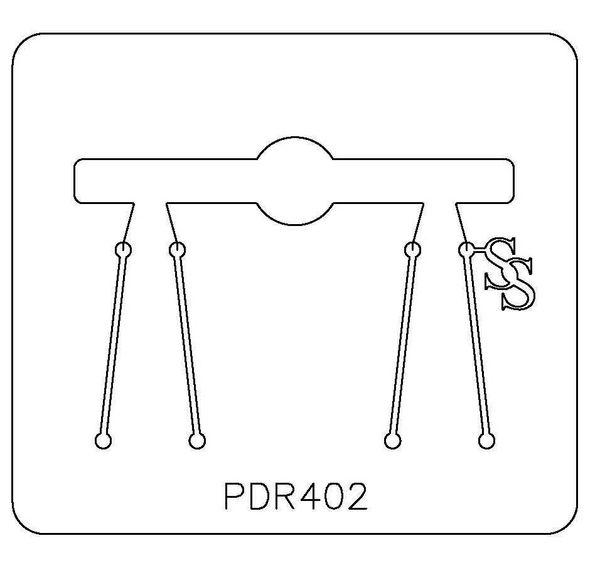 PANCAKE DIE PDR402 RING ROUND