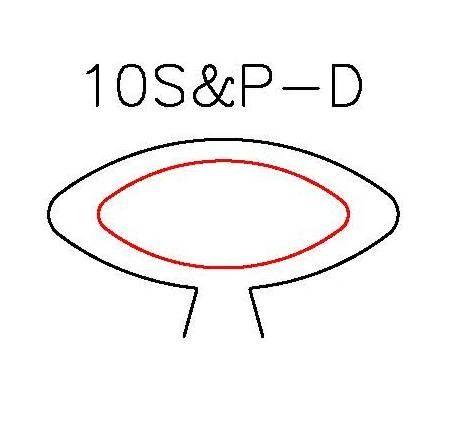 S&P DUOS: SILHOUETTE & PANCAKE DIE DUO: 10S-D, 10P-D DESIGN 3