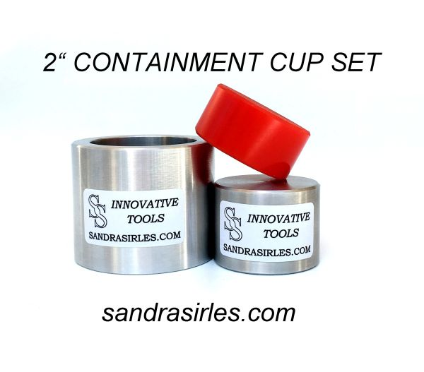 "2"" CONTAINMENT CUP SET"