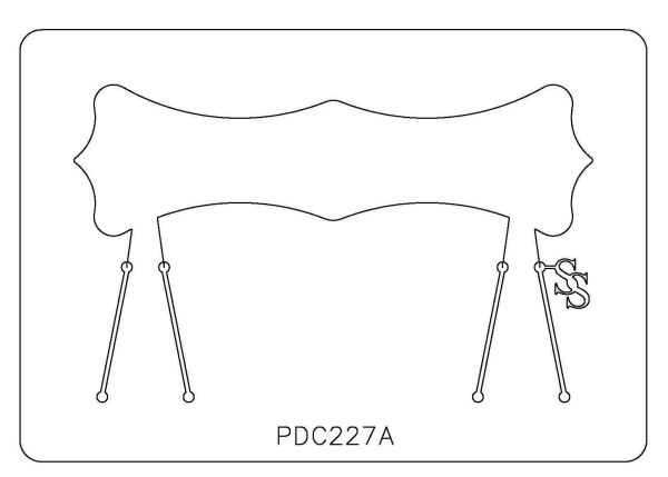 PANCAKE DIE PDC227 CUFF CURVY