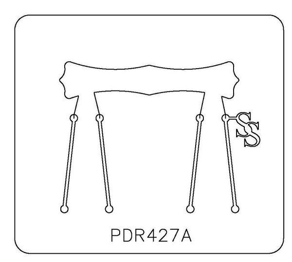 PANCAKE DIE PDR427 RING SHANK CURVY