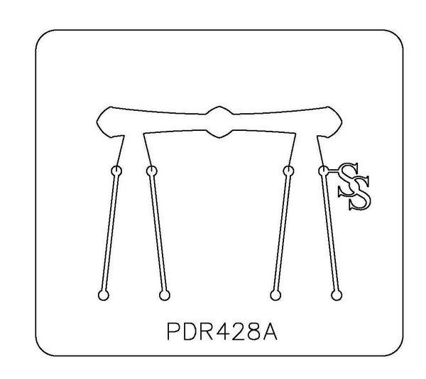 PANCAKE DIE PDR428 RING SHANK