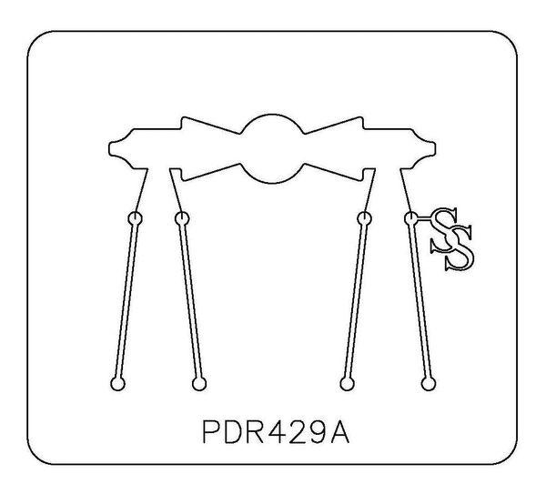 PANCAKE DIE PDR429 RING SHANK