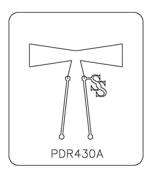 PANCAKE DIE PDR430 RING SHANK 16