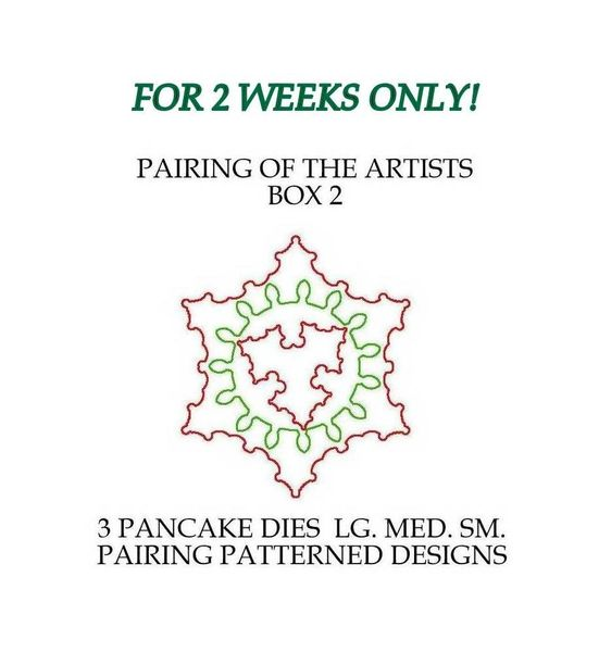 PAIRING OF THE ARTISTS BOX 2