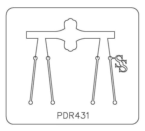 PANCAKE DIE PDR431 RING SHANK