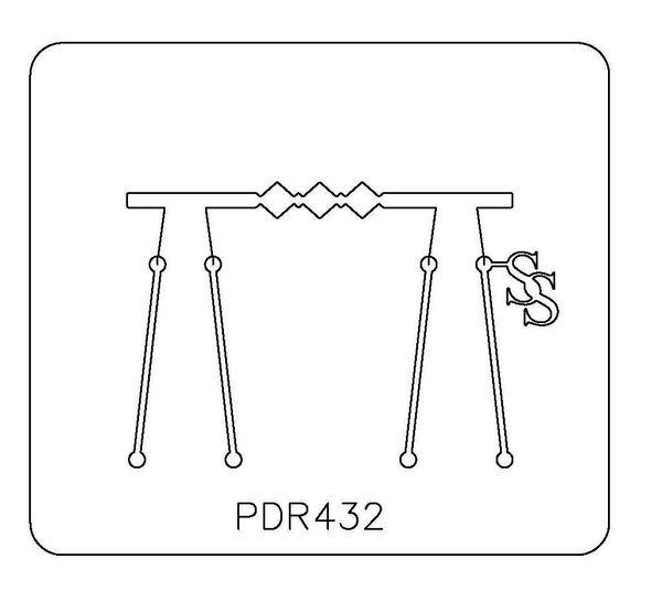PANCAKE DIE PDR432 RING SHANK