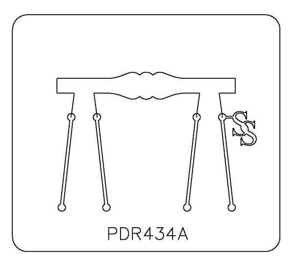 PANCAKE DIE PDR434 RING SHANK