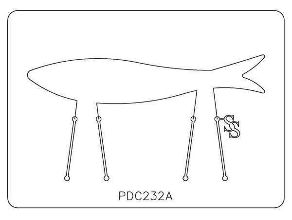 PANCAKE DIE PDC232 CUFF FISH