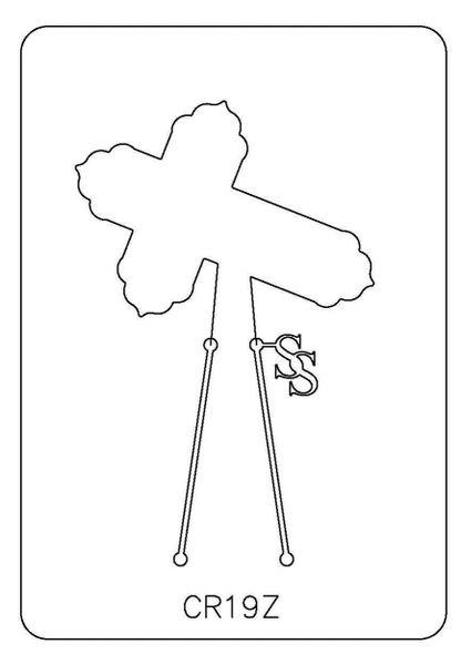 PANCAKE DIE CR019 CROSS 19