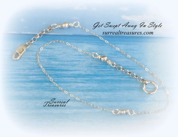 ANKLET PETITE STERLING SILVER