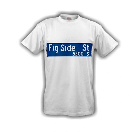 Fig Side Street Tee (White)