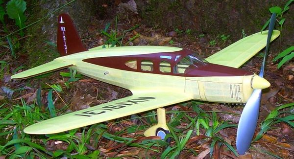 "Fairchild Duramold F46 24"" plan by Dave Rice"