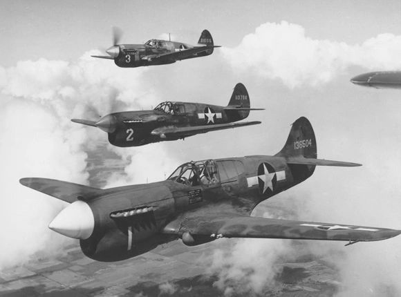 "Curtiss P-40 26"" (Prototype*)"