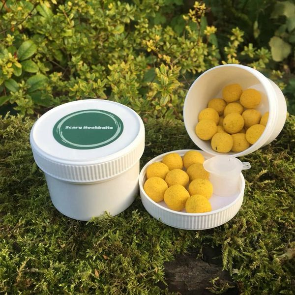 SAMPLE PACK Scary Hookbaits Creamy Coconut Wafters