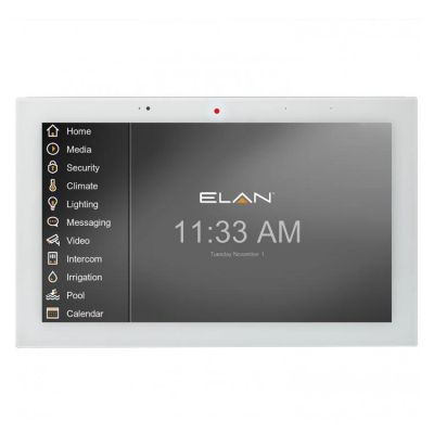 Elan Home Automation and Security touch panel