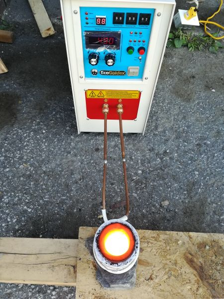Intermediate-high Frequency Induction Heating Furnace