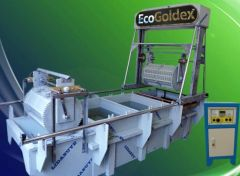 Semi Automatic gold stripping system