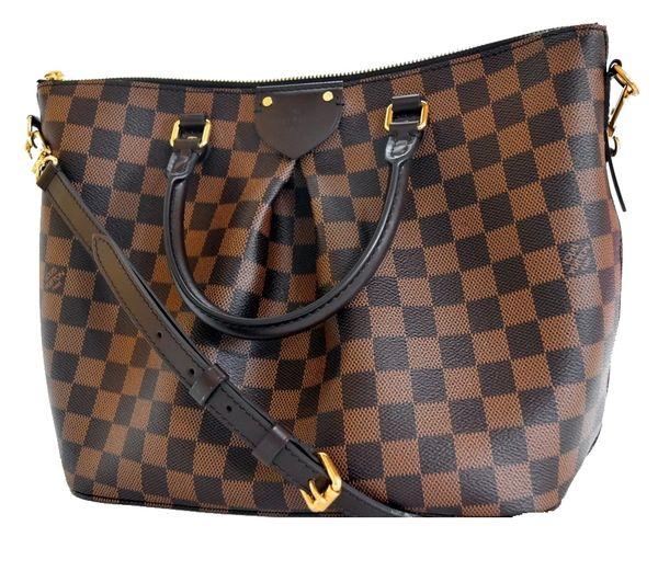 f15a9d9a02 SOLD Louis Vuitton Damier Ebene Siena MM Shoulder Bag with Strap ...