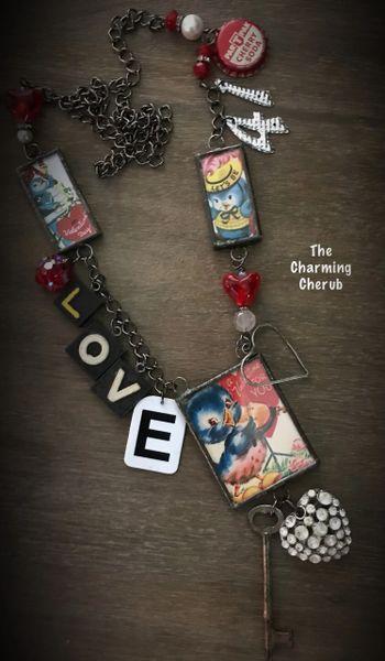 LOVE ❤️ Big necklace